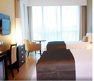 Double Deluxe Room at Tryp Panama Centro Hotel